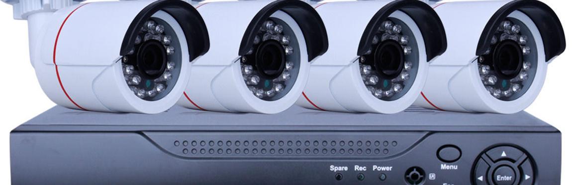 Návrh montáž a údržba kamerových systémů pro zabezpečení